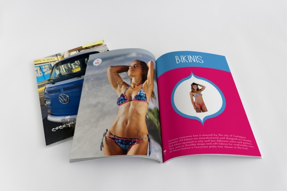 Wayuu Sales Booklet designed for Cocoyana