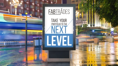 Billboard designed for Fabtrades