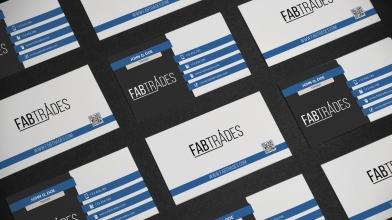 Business Cards designed for Fabtrades