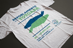 2016 Event T-Shirt design done for Earth Ocean Farms